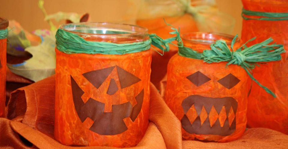 Halloween Basteleien bei vitamin R