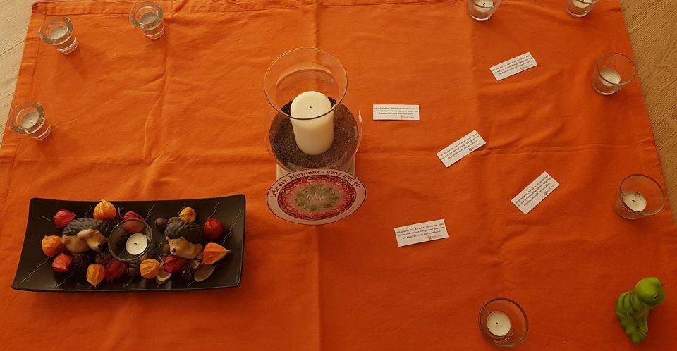 Entspannung bei vitamin R - Kerzen