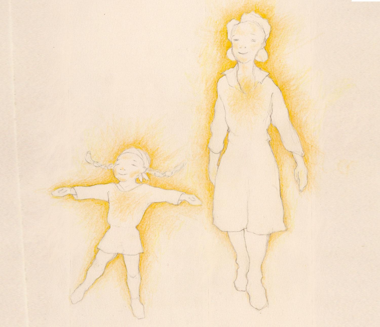 Vitamin R Beratungszentrum. Familie dargestellt mit kleinen Puppen