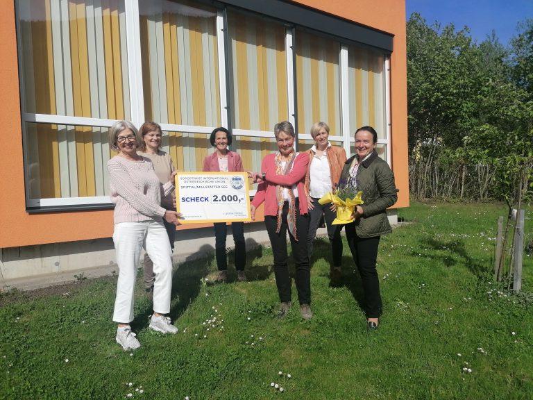 Soroptimist Club Spittal-Millstätter See spendet für Frauen in der Nockregion