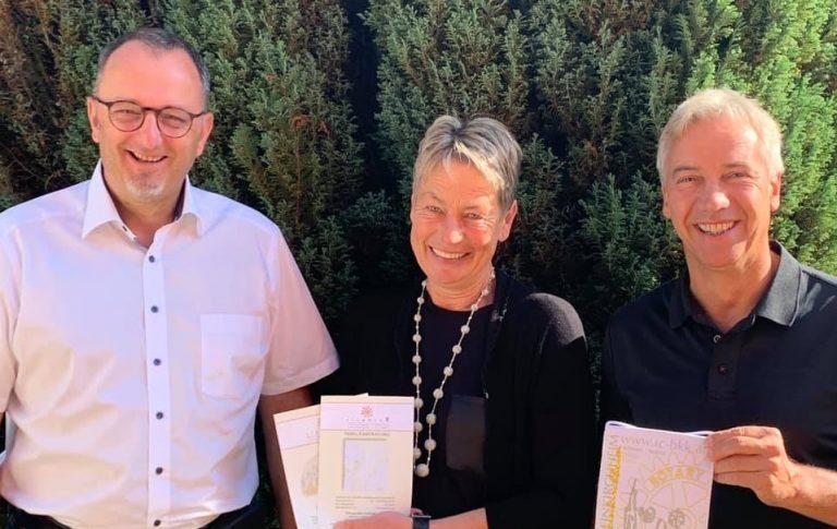 Präsidentenbesuch des Rotary Club Bad Kleinkirchheim bei vitamin R